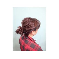 ヘアアレンジ 簡単ヘアアレンジ ゆるふわ 外国人風 ヘアスタイルや髪型の写真・画像