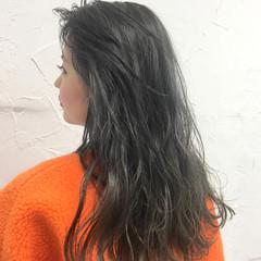 デート ミルクティー エレガント 外国人風 ヘアスタイルや髪型の写真・画像