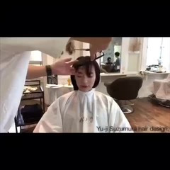 束感バング ベビーバング ショート シースルーバング ヘアスタイルや髪型の写真・画像