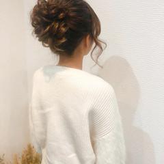 アップスタイル ヘアセット アップ 結婚式 ヘアスタイルや髪型の写真・画像