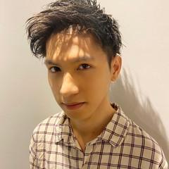 ショート メンズパーマ メンズスタイル メンズショート ヘアスタイルや髪型の写真・画像