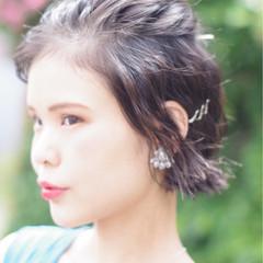結婚式 簡単ヘアアレンジ 上品 大人女子 ヘアスタイルや髪型の写真・画像