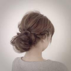 ナチュラル フェミニン モテ髪 愛され ヘアスタイルや髪型の写真・画像