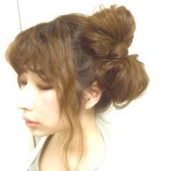 ゆるふわ コンサバ フェミニン アップスタイル ヘアスタイルや髪型の写真・画像