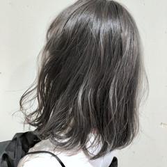 グラデーションカラー ハイライト ガーリー ウェーブ ヘアスタイルや髪型の写真・画像