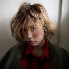 暗髪 ストリート 外国人風 ボブ ヘアスタイルや髪型の写真・画像