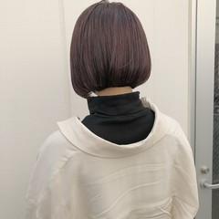 ショートボブ ショートヘア ベリーショート 切りっぱなしボブ ヘアスタイルや髪型の写真・画像
