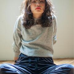 デジタルパーマ 外国人風 パーマ ウェーブ ヘアスタイルや髪型の写真・画像