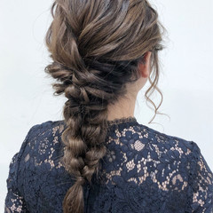 セミロング 結婚式 ヘアアレンジ 成人式 ヘアスタイルや髪型の写真・画像