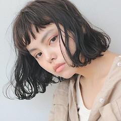 ロブ 透明感 大人女子 ナチュラル ヘアスタイルや髪型の写真・画像