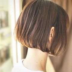 ハイライト ワンレングス 外国人風 透明感 ヘアスタイルや髪型の写真・画像