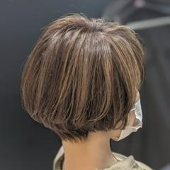 マッシュヘア マッシュショート ショート ナチュラル ヘアスタイルや髪型の写真・画像
