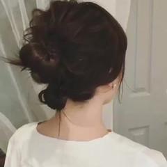 大人かわいい フェミニン パーティ ミディアム ヘアスタイルや髪型の写真・画像