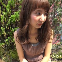 前髪あり ショートバング 大人かわいい アッシュ ヘアスタイルや髪型の写真・画像