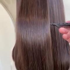 髪質改善 髪質改善トリートメント ロング 美髪 ヘアスタイルや髪型の写真・画像