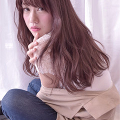 大人女子 ガーリー アンニュイ 外国人風 ヘアスタイルや髪型の写真・画像