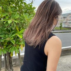 大人ハイライト バレイヤージュ ハイライト エレガント ヘアスタイルや髪型の写真・画像