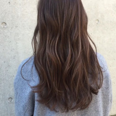 パーマ 色気 フェミニン フリンジバング ヘアスタイルや髪型の写真・画像