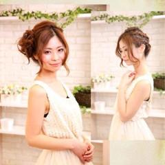 アップスタイル ヘアアレンジ ロング パーティ ヘアスタイルや髪型の写真・画像