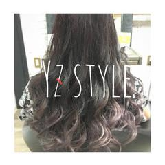 外国人風カラー ガーリー 女子力 ロング ヘアスタイルや髪型の写真・画像