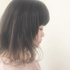 ミディアム グラデーションカラー ストリート 外国人風カラー ヘアスタイルや髪型の写真・画像
