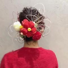 結婚式 アンニュイほつれヘア 卒業式 ボブ ヘアスタイルや髪型の写真・画像