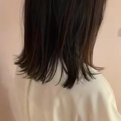 大人かわいい ミディアム 外ハネボブ 外ハネ ヘアスタイルや髪型の写真・画像