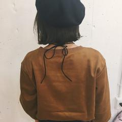 外国人風 ストリート 冬 色気 ヘアスタイルや髪型の写真・画像