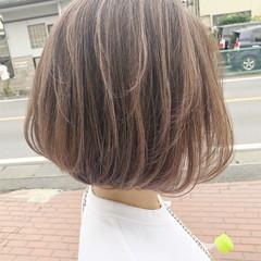 大人カジュアル ショートボブ ショートヘア ミニボブ ヘアスタイルや髪型の写真・画像