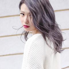 冬 ナチュラル ゆるふわ 大人女子 ヘアスタイルや髪型の写真・画像