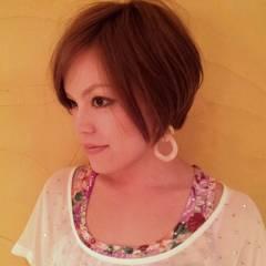 ナチュラル フェミニン ショート 小顔 ヘアスタイルや髪型の写真・画像