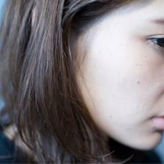 ストリート モード ウェーブ 暗髪 ヘアスタイルや髪型の写真・画像