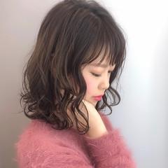 大人かわいい パーマ フェミニン オシャレ ヘアスタイルや髪型の写真・画像