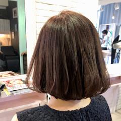 ヘアアレンジ ボブ エフォートレス フェミニン ヘアスタイルや髪型の写真・画像
