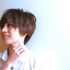 大人かわいい 外国人風 ショート ストリート ヘアスタイルや髪型の写真・画像