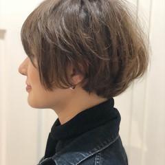 ロブ 簡単ヘアアレンジ ヘアアレンジ ショート ヘアスタイルや髪型の写真・画像