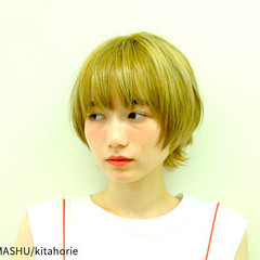 ショート ストリート ボブ 外国人風 ヘアスタイルや髪型の写真・画像