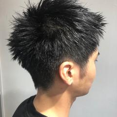 メンズ メンズカット ショート ストリート ヘアスタイルや髪型の写真・画像