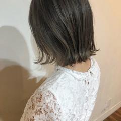 女子力 ナチュラル ハイトーン 透明感 ヘアスタイルや髪型の写真・画像