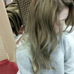 ストリート ロング 暗髪 グラデーションカラー ヘアスタイルや髪型の写真・画像