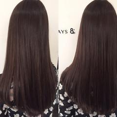 外国人風 アッシュグレージュ アッシュ 暗髪 ヘアスタイルや髪型の写真・画像