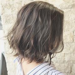 大人女子 アッシュベージュ ナチュラル 色気 ヘアスタイルや髪型の写真・画像