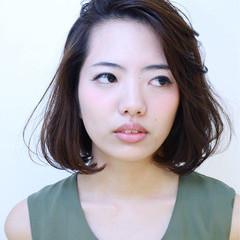 くせ毛風 ピュア ふわふわ 大人かわいい ヘアスタイルや髪型の写真・画像