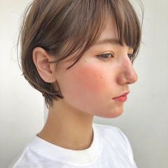 ショート ヘアアレンジ デート スポーツ ヘアスタイルや髪型の写真・画像
