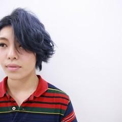 モード ブリーチ ダブルカラー ハイトーン ヘアスタイルや髪型の写真・画像