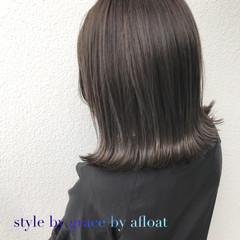 ブラウン 外国人風カラー アッシュグレージュ ボブ ヘアスタイルや髪型の写真・画像