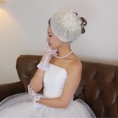 ロング 結婚式 上品 エレガント ヘアスタイルや髪型の写真・画像