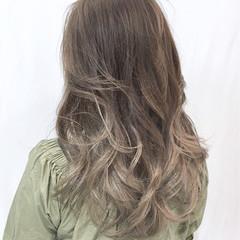 ロング 外国人風カラー 上品 エレガント ヘアスタイルや髪型の写真・画像