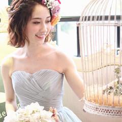 ヘアアレンジ ミディアム ショート アッシュ ヘアスタイルや髪型の写真・画像