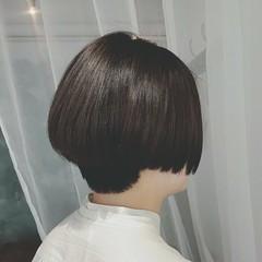 スポーツ ボブ モード ショート ヘアスタイルや髪型の写真・画像